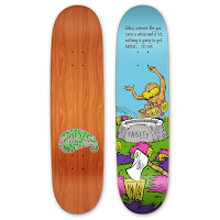 "Sean Cliver ""Unless II"" Deck from Paisley Skates"