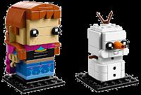 anna reine des neige Lego BrickHeadz