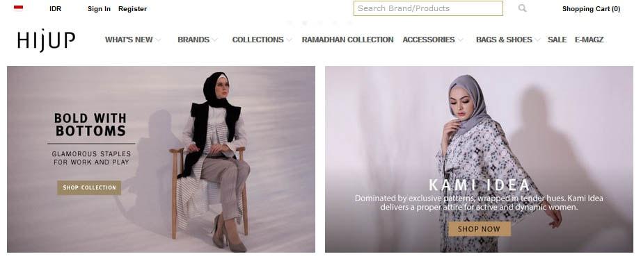 Hijab Online Shop Hijup.com Merupakan Online Shop Terlengkap yang Menyediakan Bermacam Busana Muslim Berkualitas
