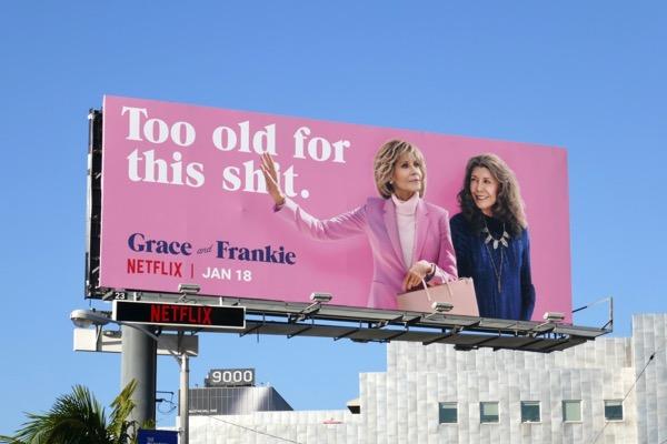 Grace and Frankie season 5 billboard