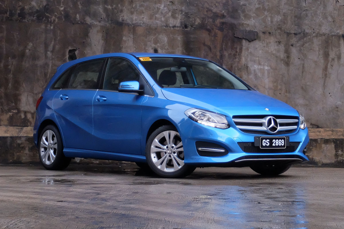 review 2018 mercedes benz b 180 urban philippine car news car reviews automotive features. Black Bedroom Furniture Sets. Home Design Ideas