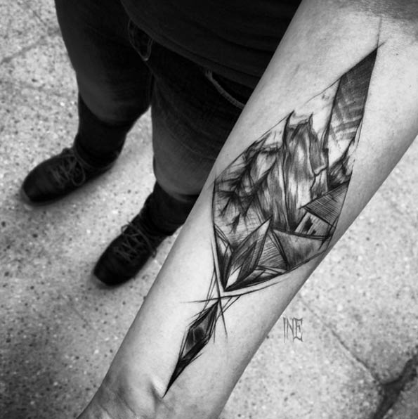 83 Awesome Y G Tattoos Cool Tattoo Designs: Fascinating Sketch Style Tattoo Designs