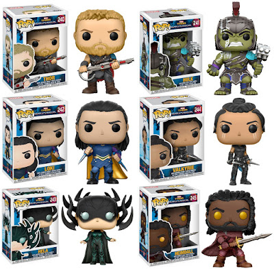 Thor Ragnarok Pop! Marvel Series 1 Vinyl Figures by Funko
