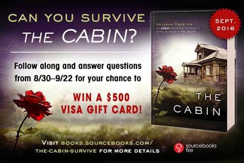 The Cabin by Natasha Preston - Can You Survive The Cabin $500 Visa GC Giveaway!