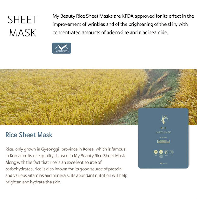 Beauty Sheet Mask dari My Product Co