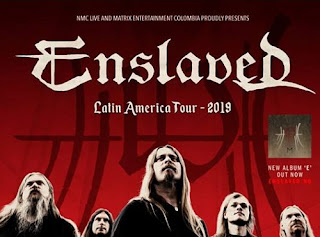 "POS ENSLAVED ""Latin American Tour 2019"""