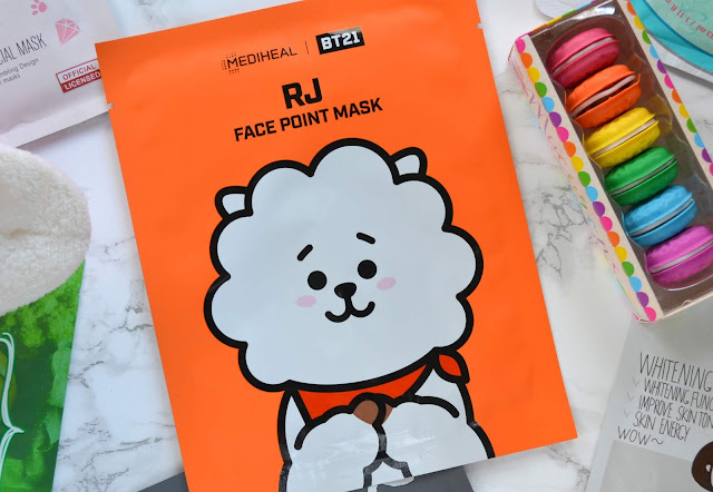 Mediheal x BT21 Face Point Mask Review