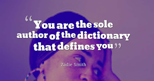 You are the sole author of the dictionary that defines you