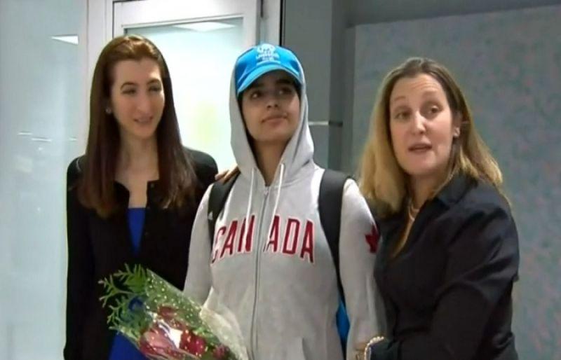 Nasib Rahaf Muhammad, Kini Dapat Suaka Pemerintah Kanada