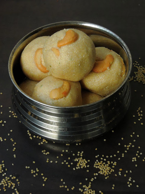 Thinai Rava Laddoo, Barnyard millet Laddoo