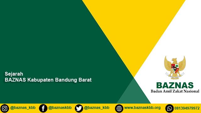 Sejarah BAZNAS Kabupaten Bandung Barat