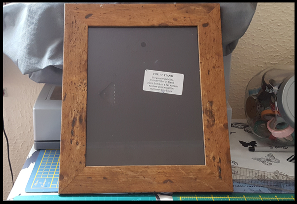 Beautiful picture frame to be used to hang Polaroids