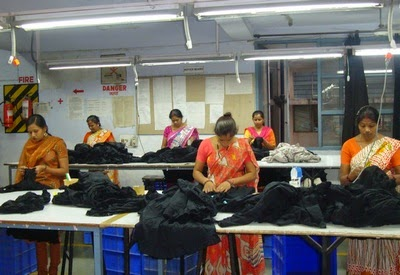 Quality section in garment industry