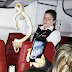 Young Boy Finds Snake Hidden Behind His Seat On Board A Plane. (Photo)