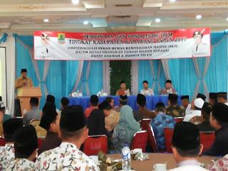 Kegiatan Pembinaan dan Sosialisasi DKM di Karawang