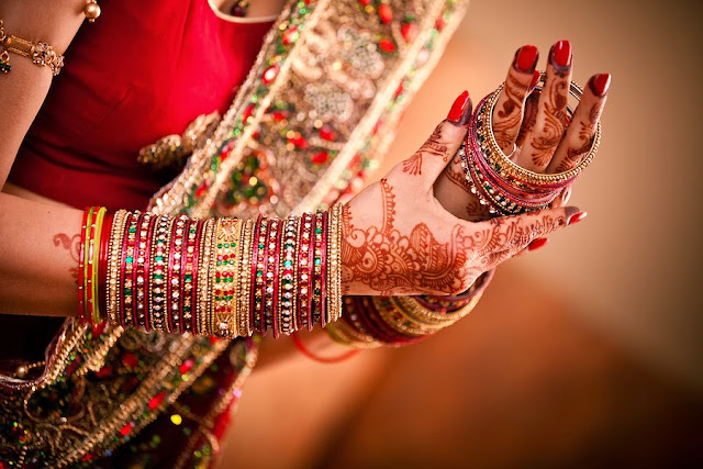 Beautiful Bridal Bangles and Bracelets (Choodiyaan and Kangan)