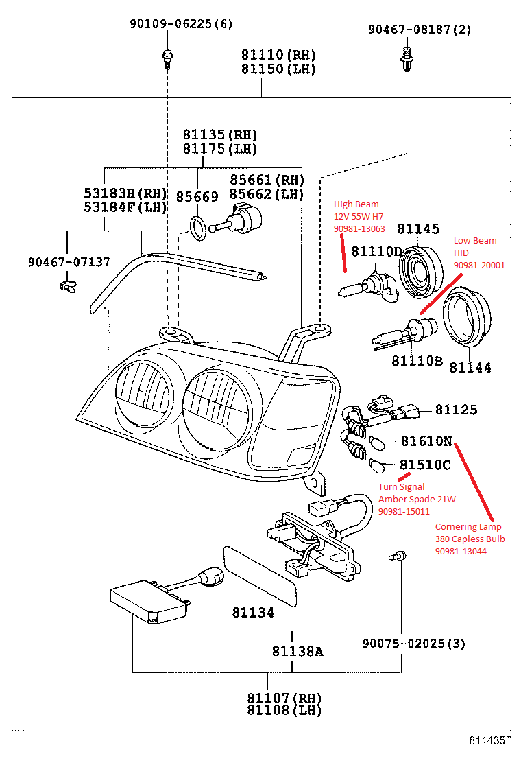 jzs171 crown athlete headlight diagram