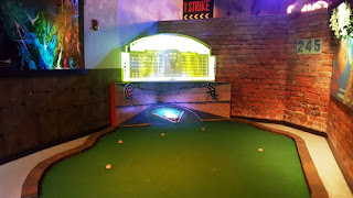 Mini Golf at FTW in Chicago
