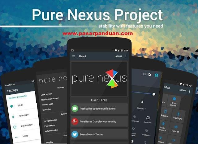 custom rom khusus untuk hp nexus atau pixel