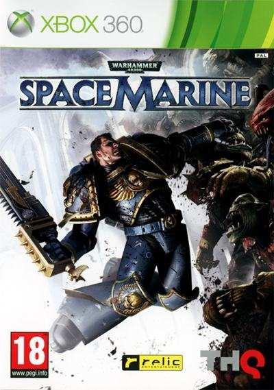 Warhammer 40000 Space Marine XBOX 360 Full Español