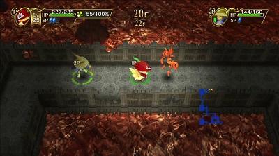 Chocobo's Mystery Dungeon Every Buddy Gameplay