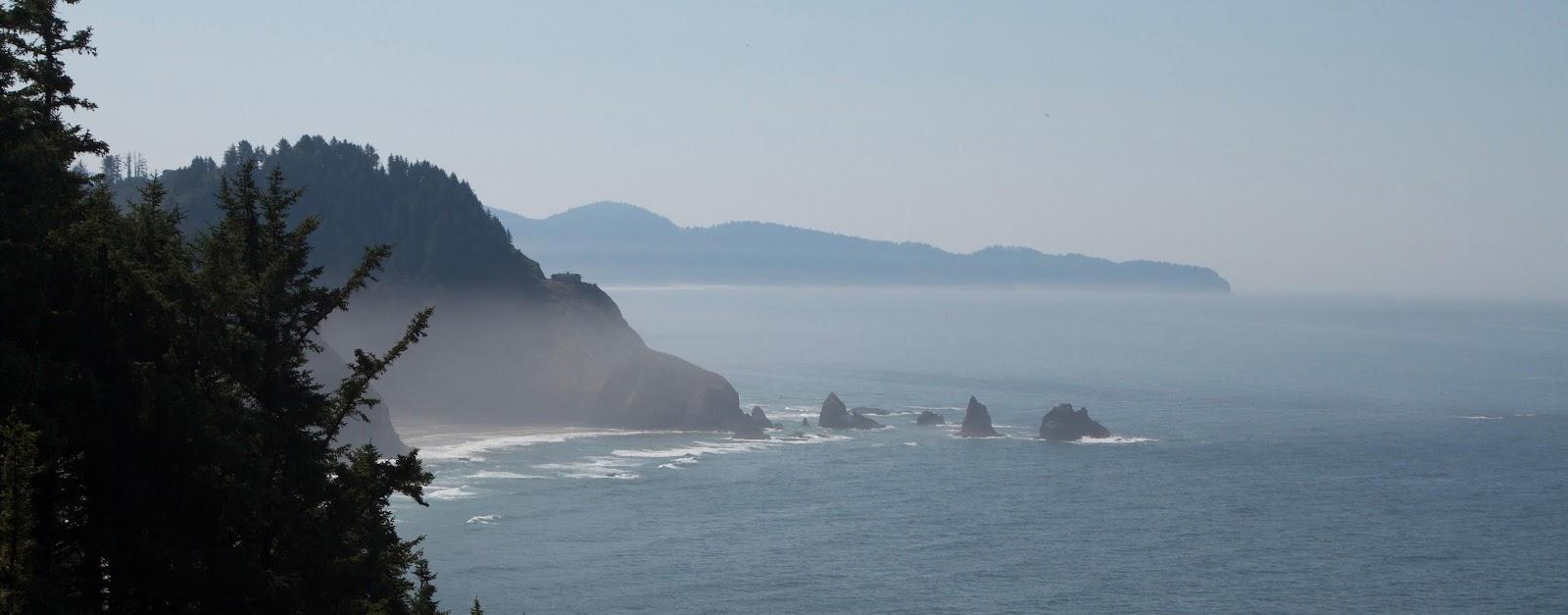 The Oregon Coast Part I: Redwoods and Lumberjacks