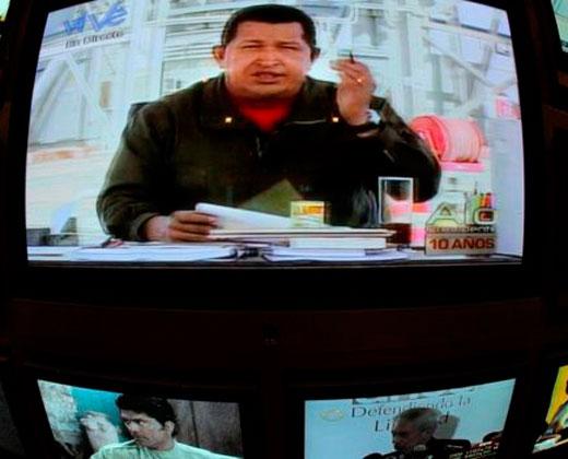 El país que vi mirando una semana VTV, el canal estatal de Venezuela
