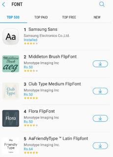Cara Merubah Font di Galaxy S8 dan S8 Plus