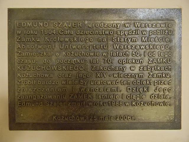Edmund Szajer uratował kożuchowski zamek przed zniszczeniem.