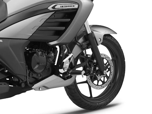 New Suzuki Intruder 150 front wheel image