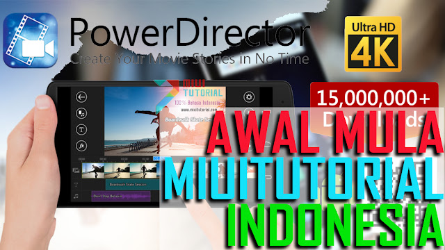 Rekomendasi Aplikasi Video Editor di Smartphone Xiaomi: Cyberlink PowerDirector Bundle Version - Adobe Premier Rasa Mobile