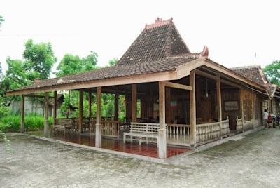 Rumah Adat Joglo , Rumah Adat Jawa Tengah