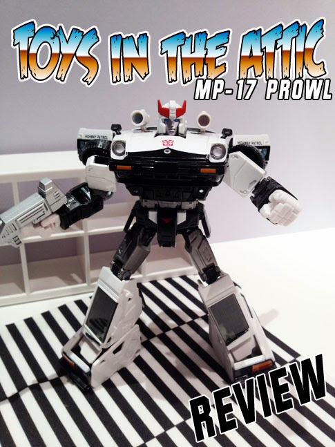 Transformers Masterpiece MP-17 Prowl Recensione Review