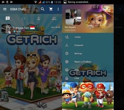BBM Mod Get Rich v2.13.1.14 Apk