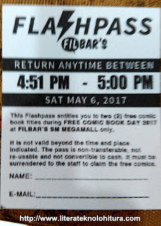 filbars flash pass fcbd 2017