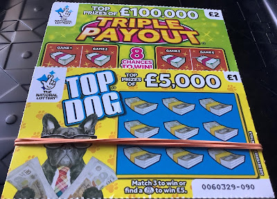 Top Dog and Triple Payout National Lottery Scratch Cards