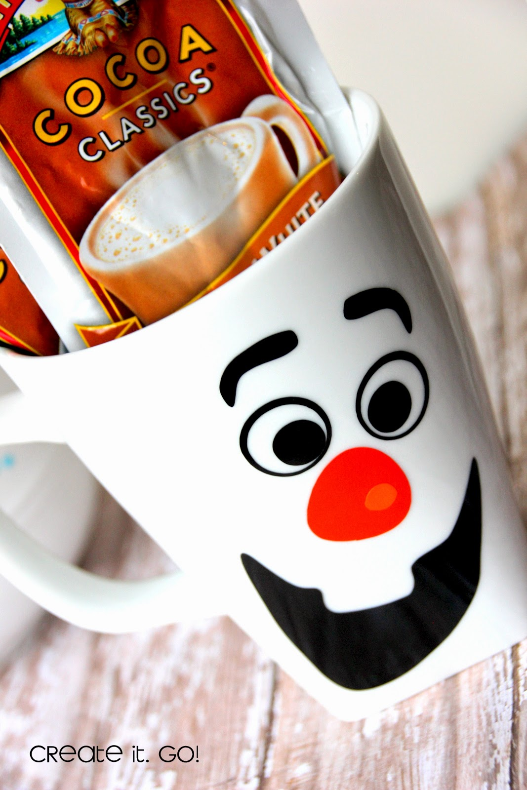Olaf\'s Mug {Frozen Inspired} ~ Create it. Go!