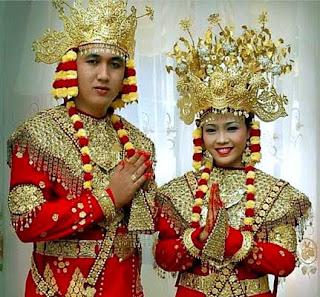 Gambar Pakaian Adat Sumatera Selatan