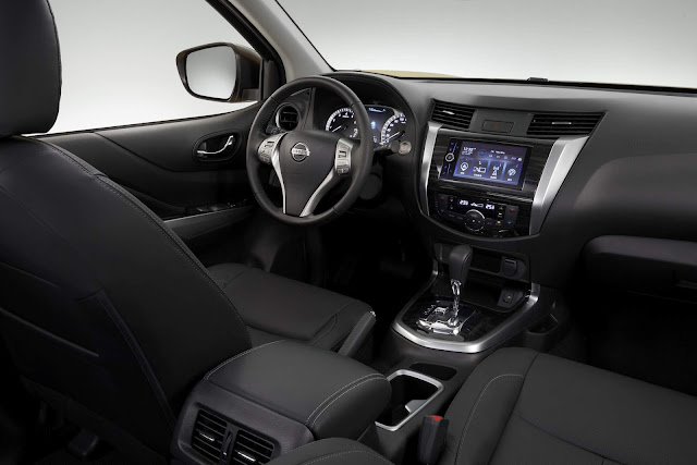 Novo Nissan Terra - interior