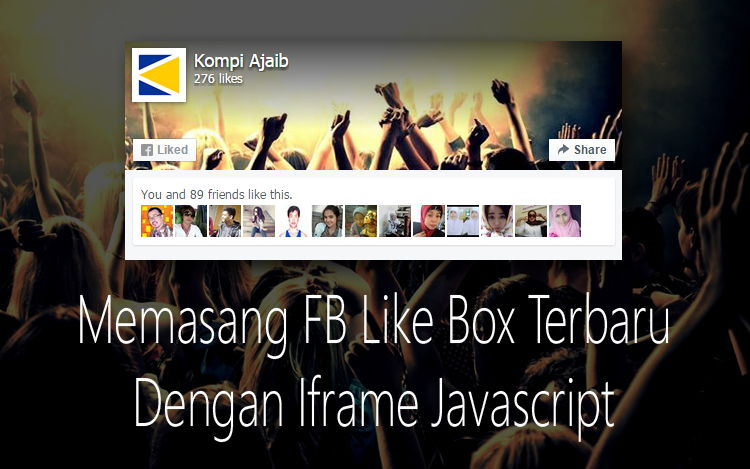 New Facebook Like Box With Iframe On Javascript