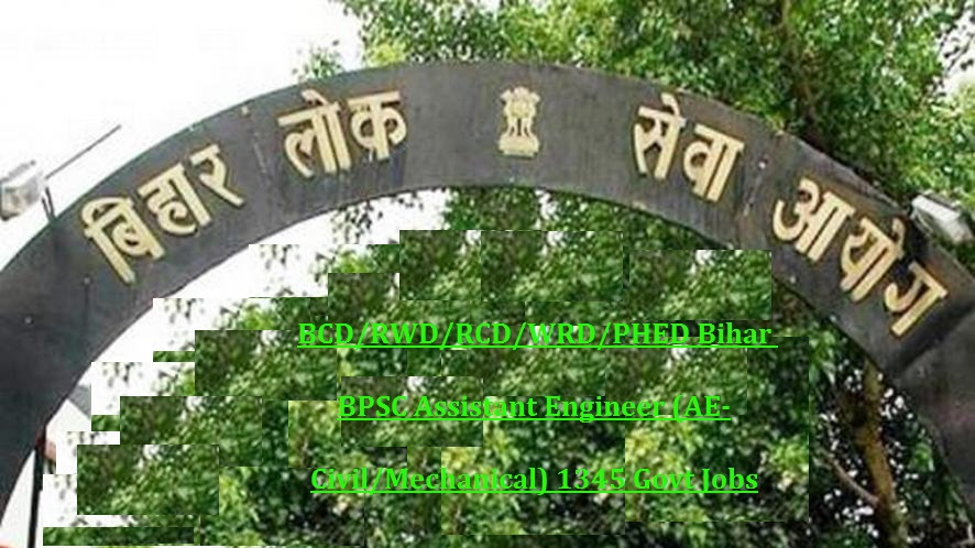 PHED Bihar BPSC Assistant Engineer (AE-Civil/Electrical) 70