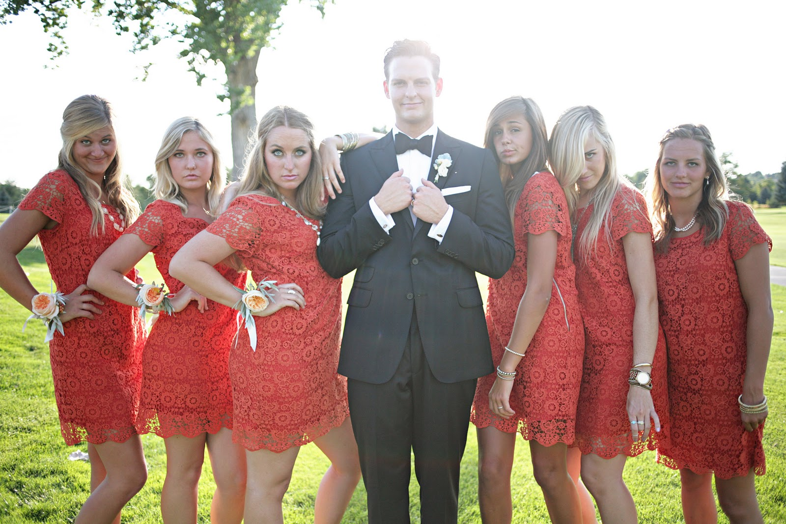 62333a685880 Life in Technicolor: Wedding Pictures Day 4: Bridesmaids, Groomsmen, and  Flower Girls