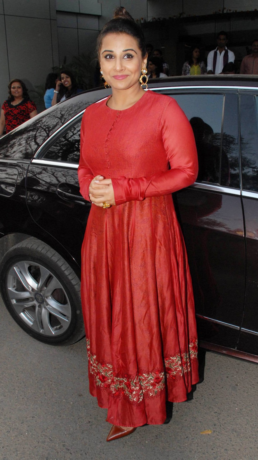 Vidya Balan Gorgeous Photos In Red Dress
