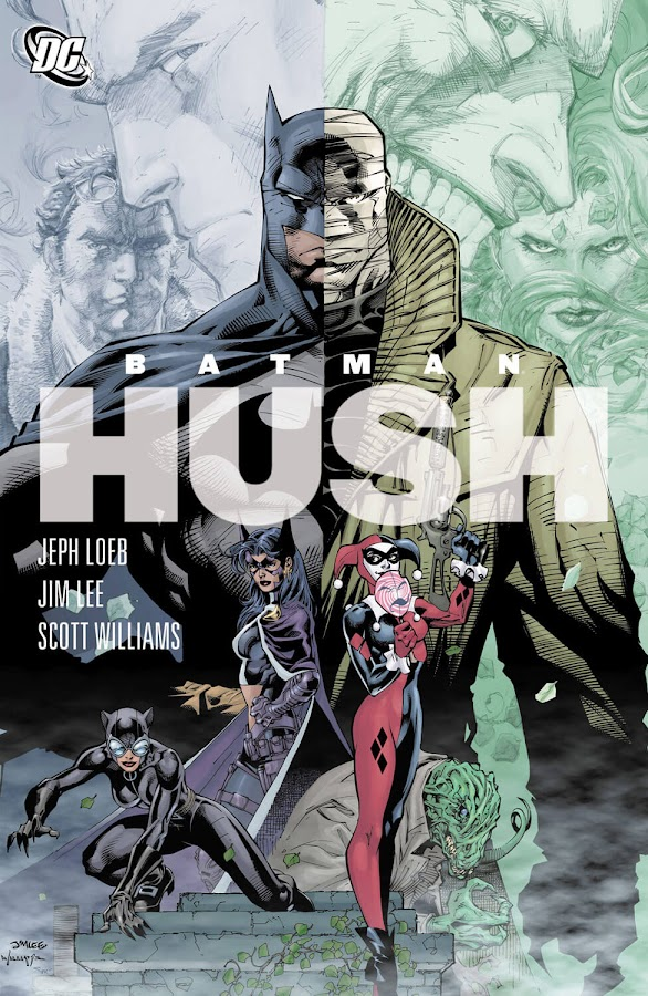 batman hush cover dc comics catwoman