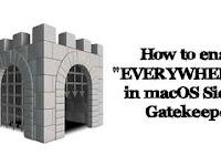 How to Enable Anywhere Option In macOS Sierra GateKeeper