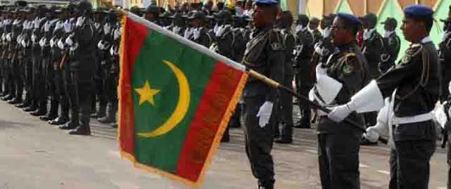 علم موريتانيا الجديد يرفرف للمرة الأولى