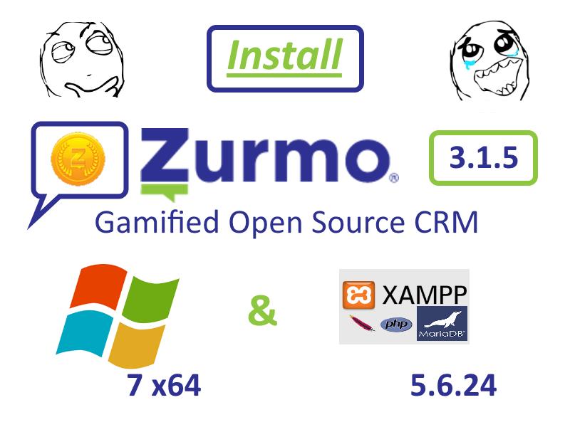 codingtrabla: Install Zurmo CRM 3 1 5 on Windows 7 x64