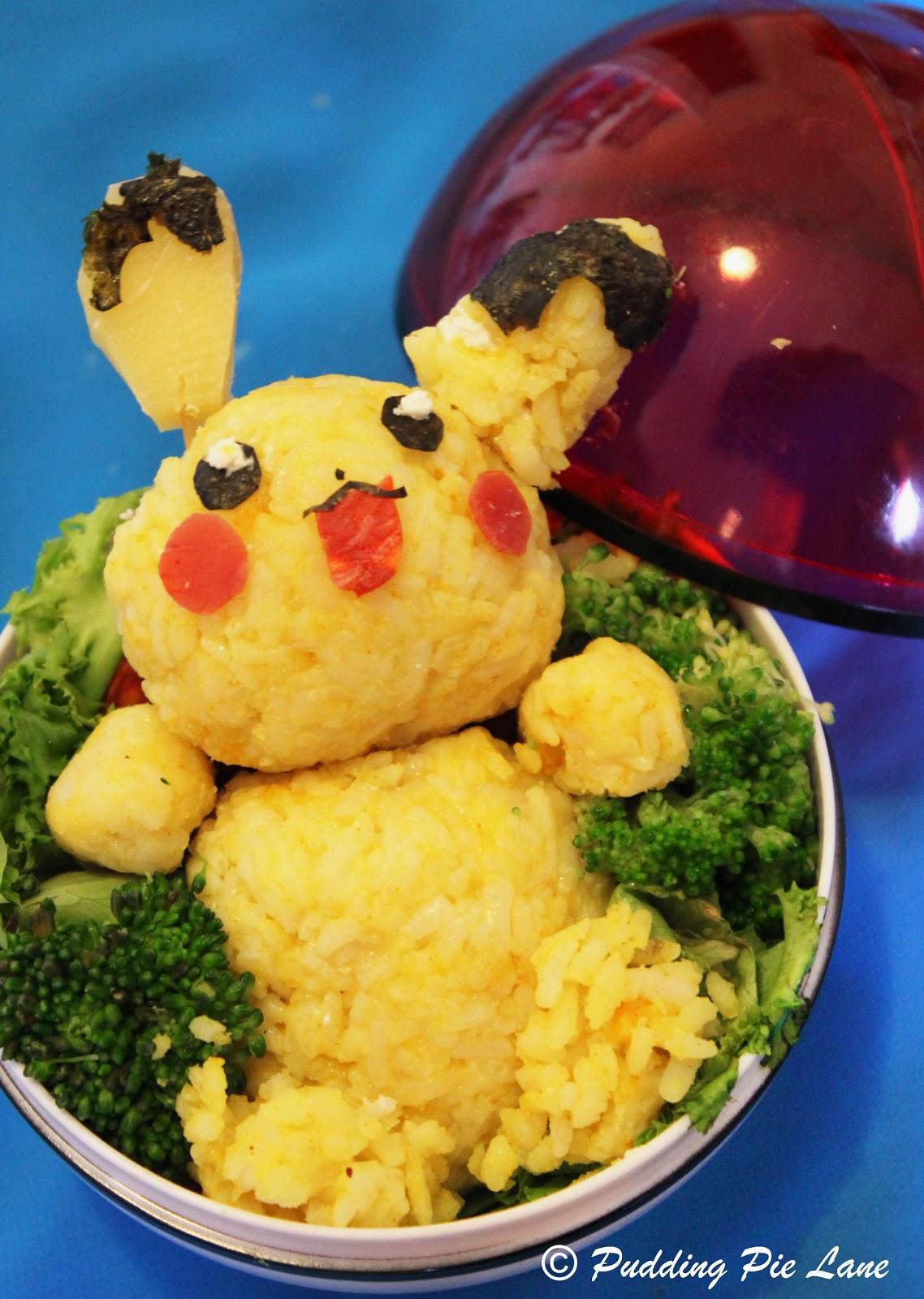 Pudding Pie Lane Bento Box Pikachu