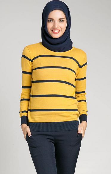 Gambar Model Baju Muslim Wanita Trendy