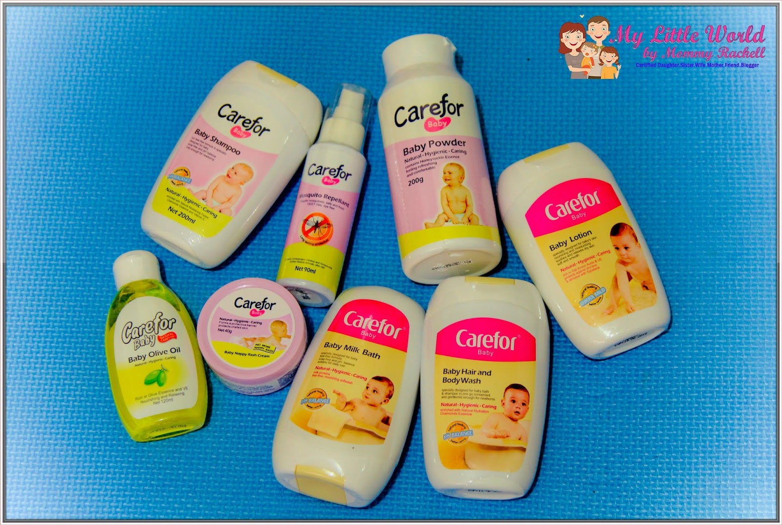 Product Review Carefor Baby Products My Little World By